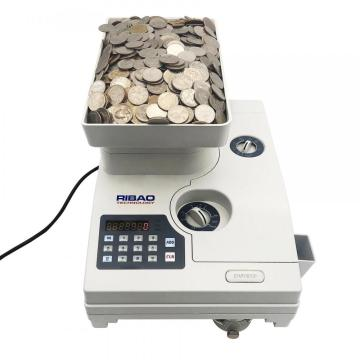 RIBAO High Speed coin counter for Czech Kuna