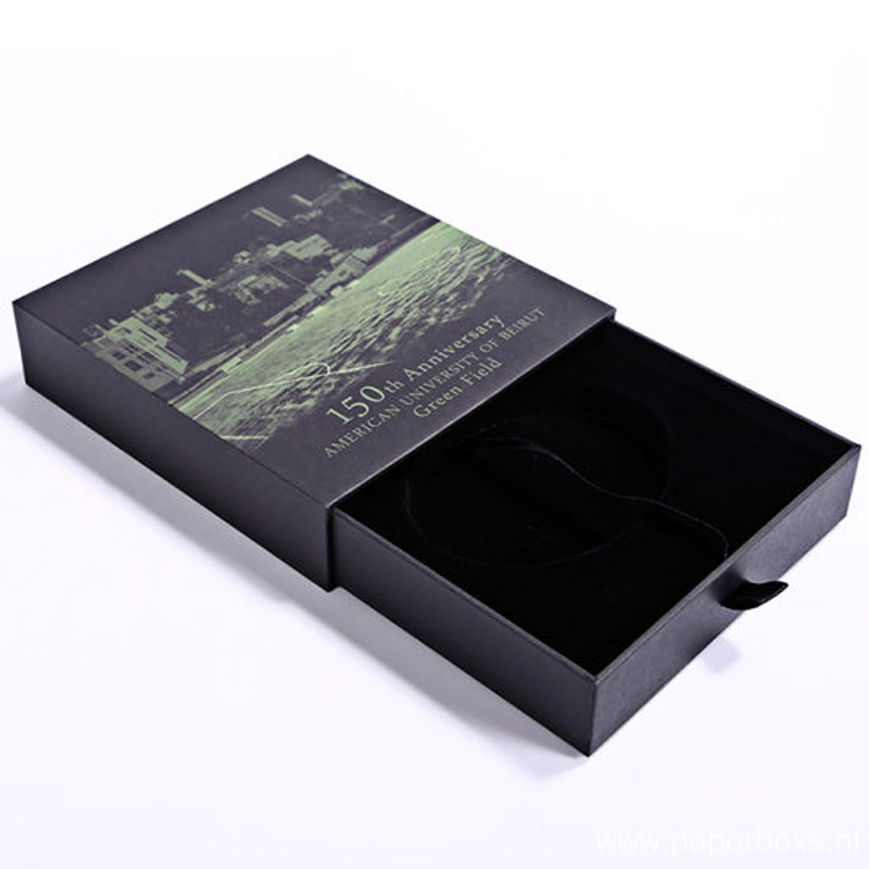 Professional Paper Precious Metal Drawer Packaging Box