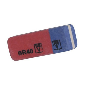 Double Color Pencil Eraser