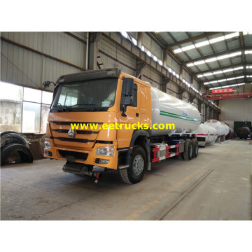 SINOTRUK 25m3 Propane Road Tanker Vehicles