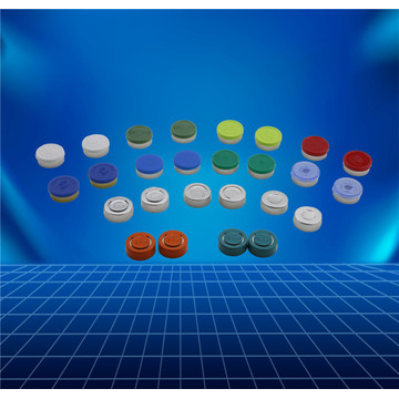 Pharmaceutical aluminium and plastic cap