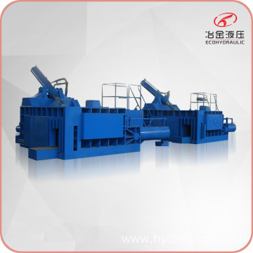 Push-out Scrap Metal Waste Baling Pressing Machine