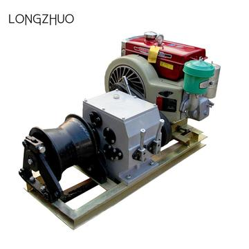 8T Cable Pulling Gasoline Engine Powered Winch