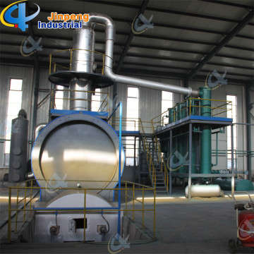 Waste Engine Oil Process Plant Base Oil Distillation Plant