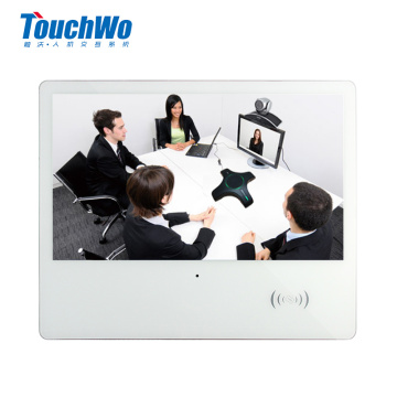 Touch panel all in one with camera NFC