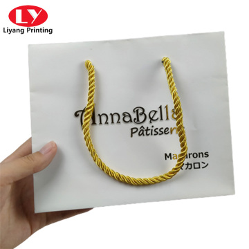 Custom Printed Plain Paper Bags for Jewelry Packaging