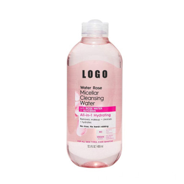 Private Label Rose Oil Free Micellar Water Cleansing
