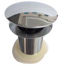 Strainer without Screw Chrome Plated Finish