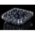 Clear clamshell pack for fresh fruit