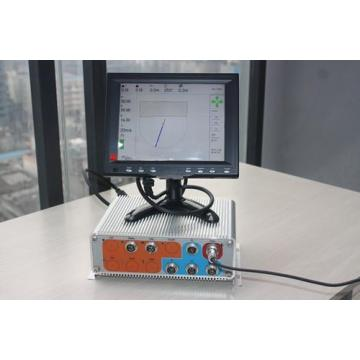 Tower crane monitor device