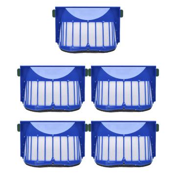 5Pcs Hepa Filter Accessroies Kit for iRobot Roomba 600 Series 605 606 616 620 650 655 660 625 676 680 690 Robot Vacuum Cleaner