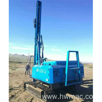 Hydraulic crawler Solar Pile Driver for Photovoltaic