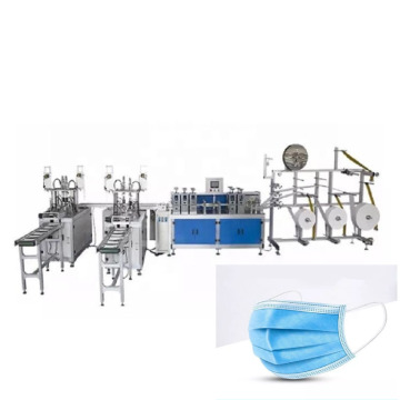 2020 New Fast Speed Automatic Ear Loop Face Mask Making Machine
