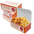 Custom Printed Fried Chicken Cardboard Box