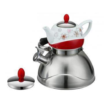 Elegant Double Whistling Kettle