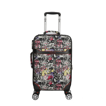 Overmute  figure fancy Oxford luggage case