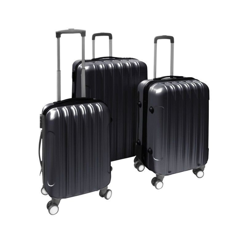 Bright hard shell abs trolley suitcase