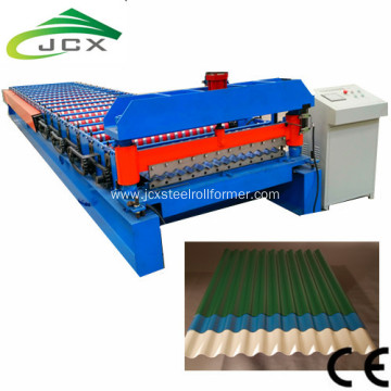 Corrugating Iron Sheet Roll Forming Making Machine