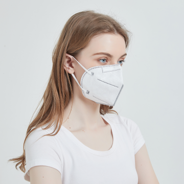 Biomass Graphene Disposable Face Mask with Nose Clip