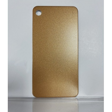Metallic Brass Gold Aluminium sheets