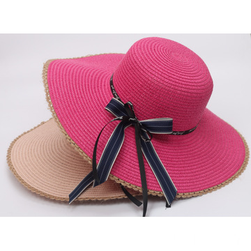 Fashionable large brim comfortable straw hat