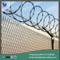 chain link security fence diamond wire fence