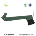 Horse Hoof Pick with Plastic Handle and Brush
