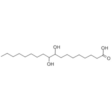 Octadecanoic acid,9,10-dihydroxy- CAS 120-87-6