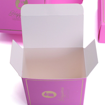 Luxury Ivory Board Candle Box Packaging