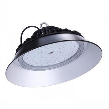 200W LED High Bay Lampu UFO Industrial 140lm / w
