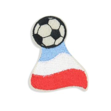 Custom Cute Pictures Flag Football Embroidered Patches