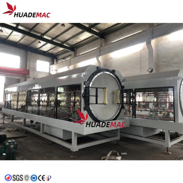 1200mm Plastic PE pipe making machine