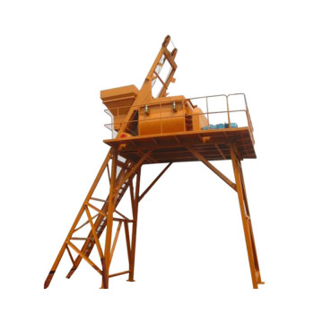 High productivity concrete mixer