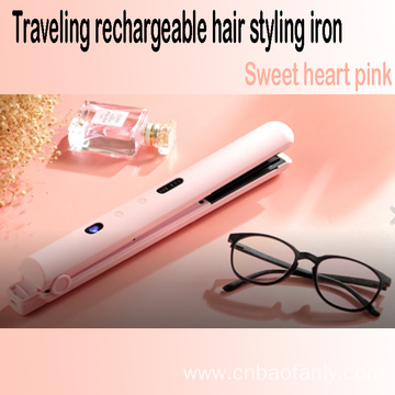 Cordless hair flat iron