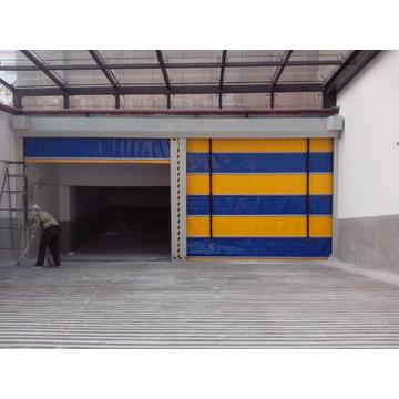 High Quality Fast Roiling Up Stacking Garage Door