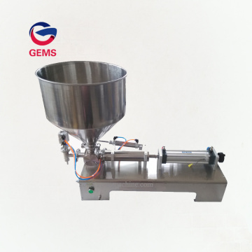 Honey Food Paste Filling/Oil Filler Bottle Filling Machine