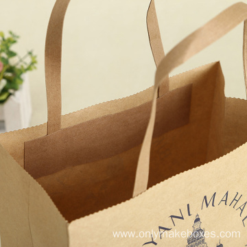 Handmade Gifts Kraft Paper Bags Gifts Shopping Bag