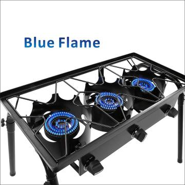 Camping Outdoor Triple Burner Stove