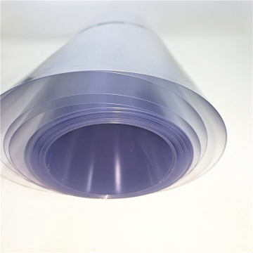 Clear PVC Plastic films sheets for food Using