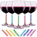 Silicone Drink Markers Wine Glass Charms