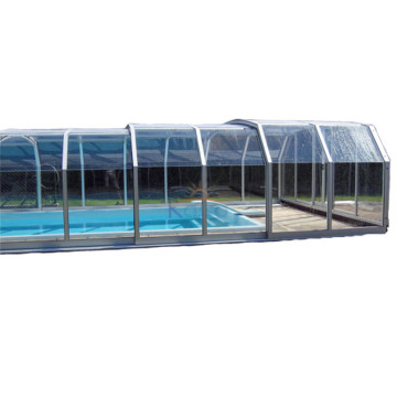Retractable Enclosure Cost Pool Shelter