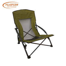 Ultimate Comfort Low Sling Beach Camping Folding Chair