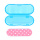 Fashion Mini Pocket Emery Nail File Buffers