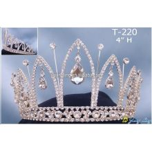 Gold Plated Beauty Pageant Crowns