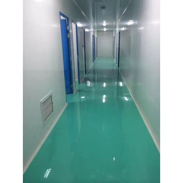 Clean room epoxy resin thin coating floor paint