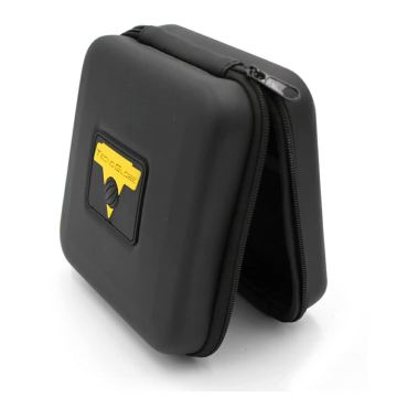 Black personalized waterproof eva car gps box for navigating instrument