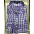 Yarn Dyed Plaid Business Shirt