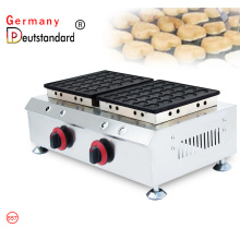 NP-557 double plates LPG commercial pancake making machine 50PCS