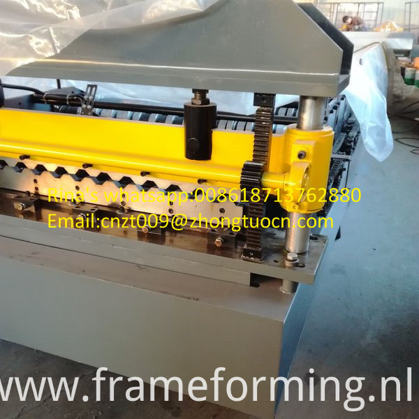 high quality roofing sheet roll forming machine