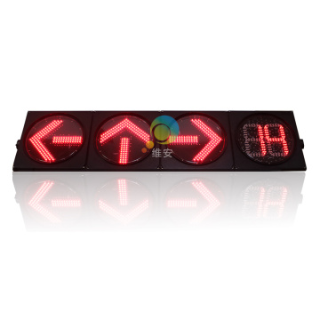 400mm led directional arrow traffic signal lights